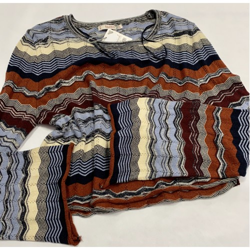 Bluza PULL&BEAR - Color Lines -