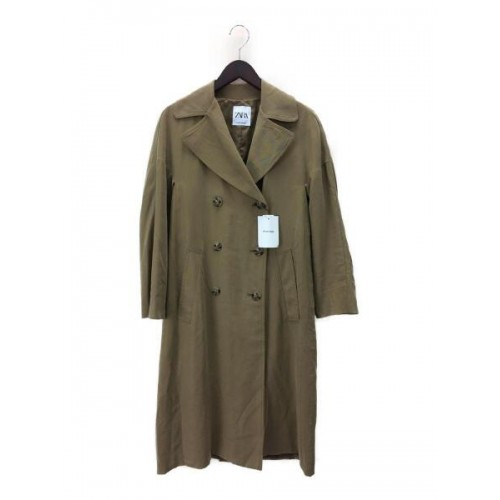 Palton dama Zara green - size XS