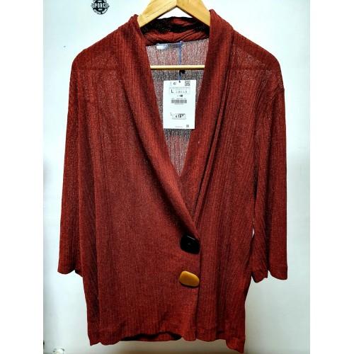 Pullover dama Zara R-brown - size L