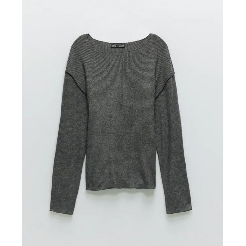 Bluza dama Zara grey - size M