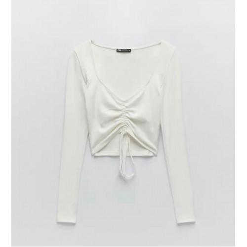 Bluza dama Zara wht - size L