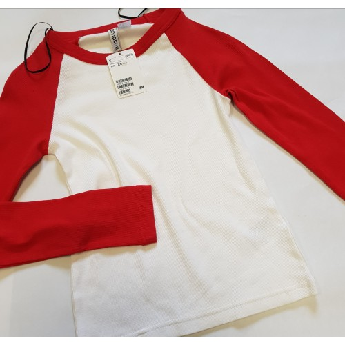 Bluza 'H&M Duo Red'