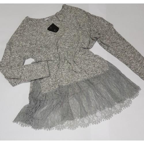 Bluza 'Zara BW' GreyJoy Lace