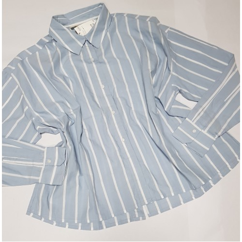 Camasa 'H&M' Blue Sky Stripe