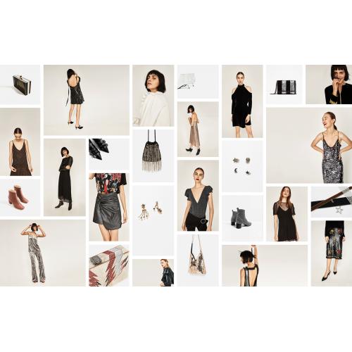 Mix Multibrand Zara,Mango,H&M,Bershka,Stradivarius - 100 buc