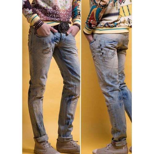 Jeans & Pantaloni PREMIUM barbatesti multibrand mix - 25 buc