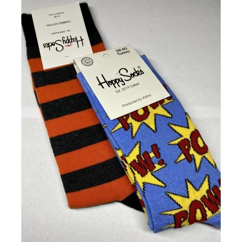 Happy Socks Couple-it ! Orange is the new POW!